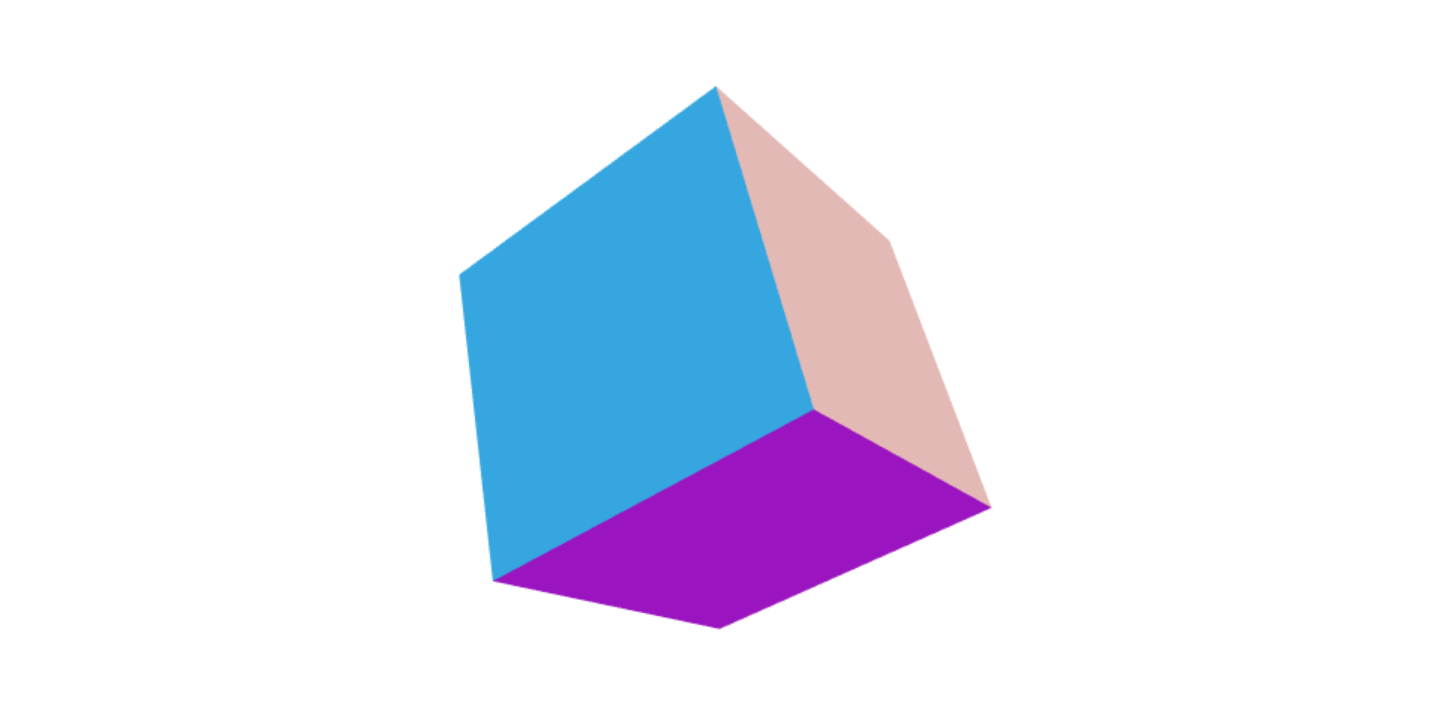 Create a rotating cube in WebGL with Three js - Jonathan